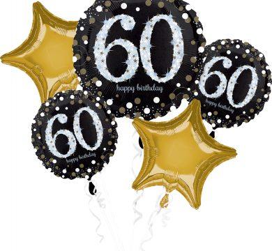 palloncini sessant'anni compleanno adulti