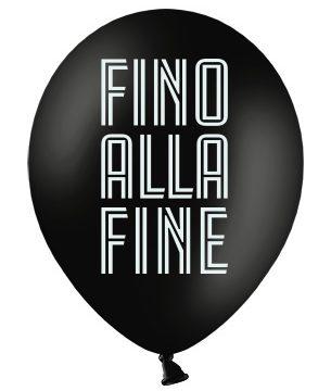 palloncino Juventus Football Club Fino alla fine