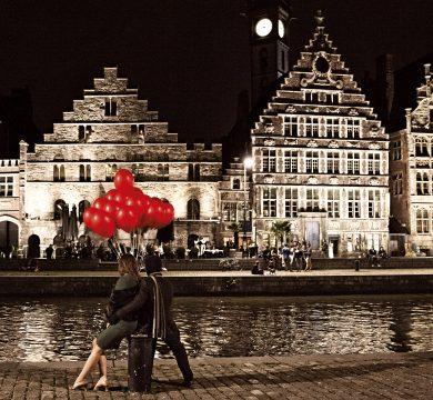 foto palloncini rossi matrimonio Belbal