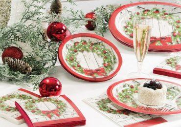 articoli tavola per Natale