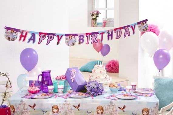 tavola festoni compleanno