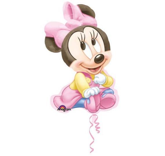 cartoncino baby disney minnie