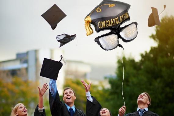 palloncini per feste di laurea