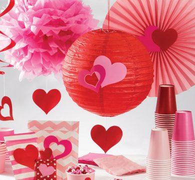 articoli per tavolo festa san valentino
