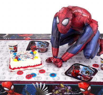 palloncino spiderman cartoni animati