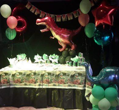 articoli per festa a tema dinosauri