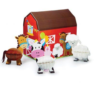 decorazioni animali per feste a tema fattoria
