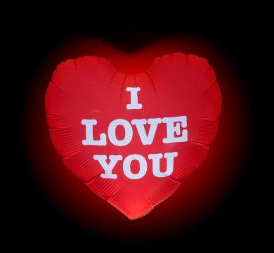 Palloncino LED Ti amo