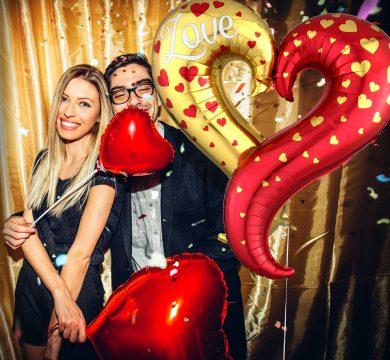 Palloncini foil San Valentino