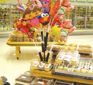 palloncini personaggi cartoni in foil
