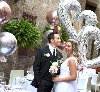 Palloncini in foil per matrimoni