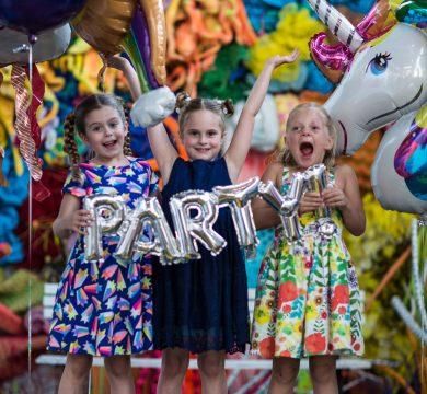 palloncini in foil festa bambini