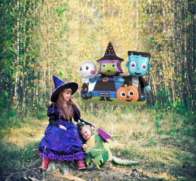 articoli palloncini costumi hallowen
