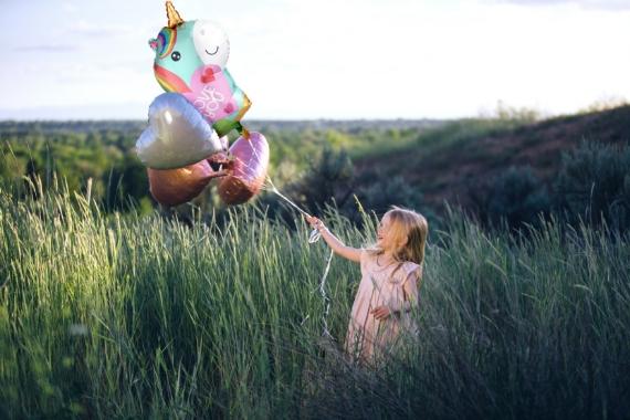 palloncini tema unicorno per bambina