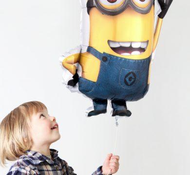 palloncino minion cartoni animati
