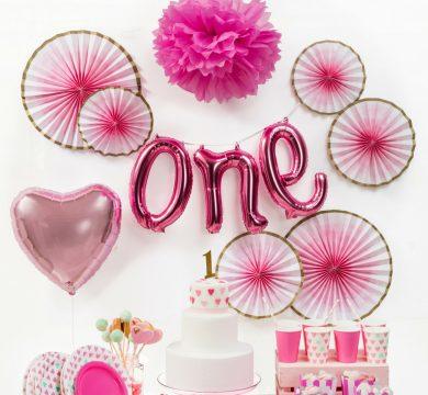 articoli primo compleanno bimba