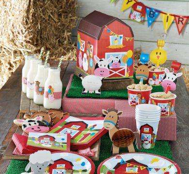 festa di compleanno a tema fattoria