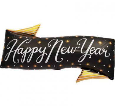 palloncino capodanno happy new year