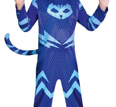 vestito carnevale pj mask blu