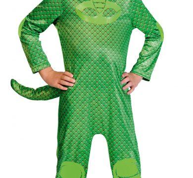 vestito carnevale pj mask verde