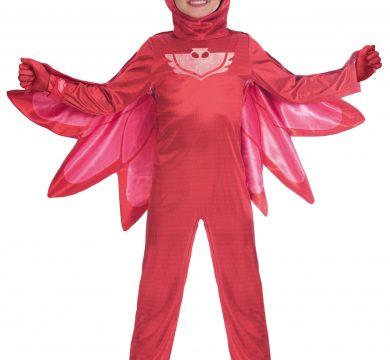 vestito carnevale pj mask rosso