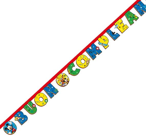 festone compleanno mickey mouse