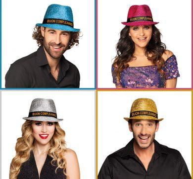cappello compleanno brillantini