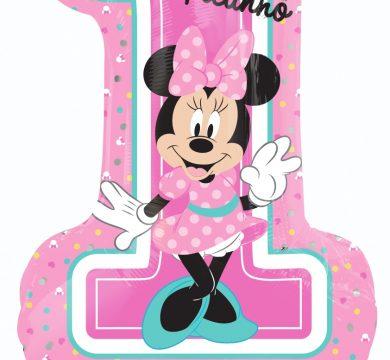 palloncino festa 1° compleanno bimba