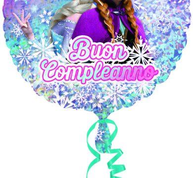 palloncino festa compleanno bambina frozen