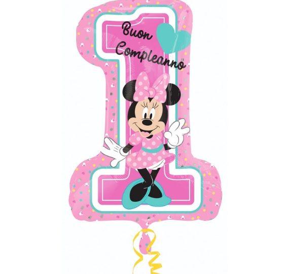 palloncino minnie mouse disney primo compleanno