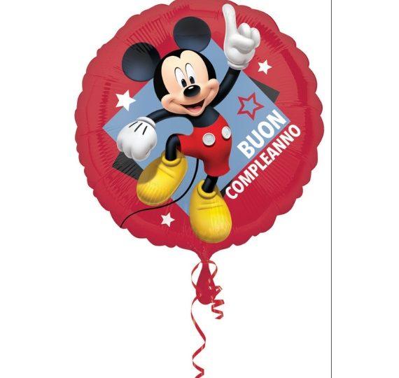 palloncino mickey mouse disney per compleanno