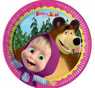 articoli party cartoni animati masha e orso