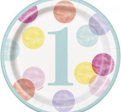 set tavolo per primo compleanno