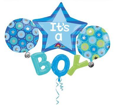 palloncini per festa nascita