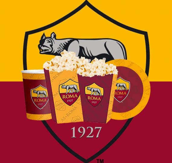 prodotti festa roma calcio