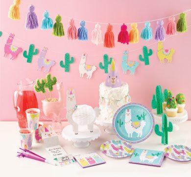 addobbi feste compleanno bambini lama