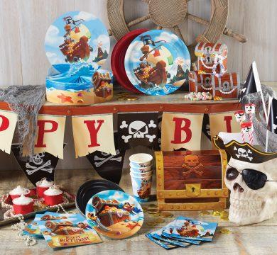 addobbi feste compleanno bambini pirata