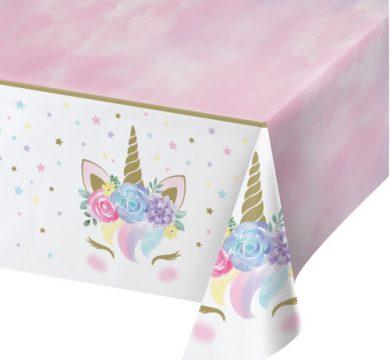 addobbi tavola unicorni