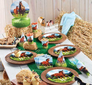 Articoli per feste a tema cavalli
