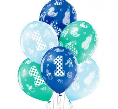 palloncini in lattice stampati