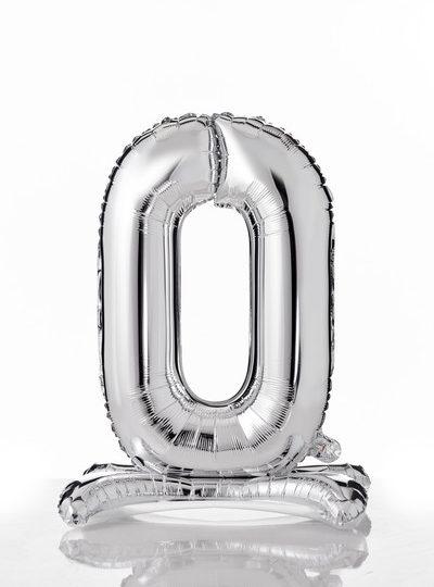 self-standing-balloon-numerati 0 argento