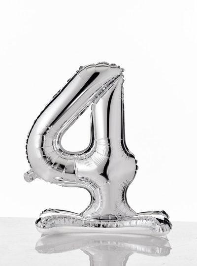 self-standing-balloon-numerati 4 argento