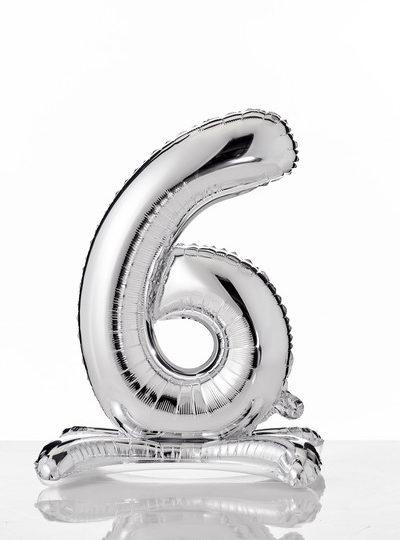 self-standing-balloon-numerati 6 argento