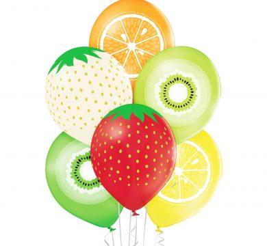palloncini in lattice frutta