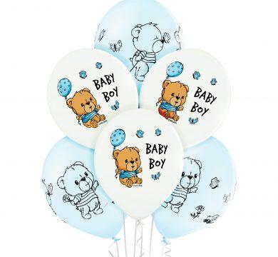 palloncini lattice nascita bambino