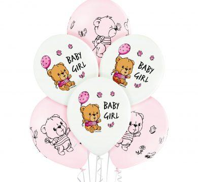 palloncini lattice nascita bambina