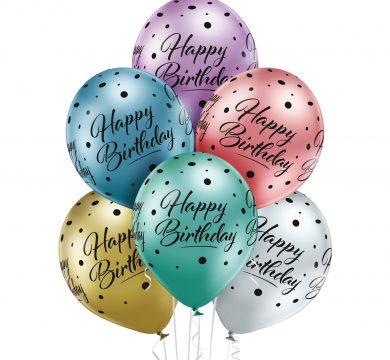 palloncini in lattice compleanno