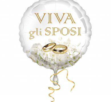 palloncino foil matrimonio